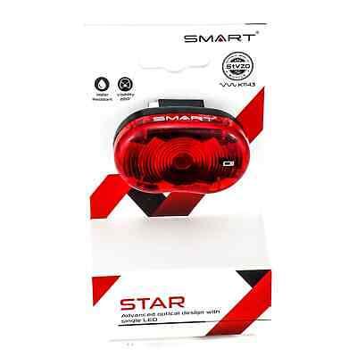 Luz trasera de bicicleta GPT con batería 80mm con marca grabada StVZO