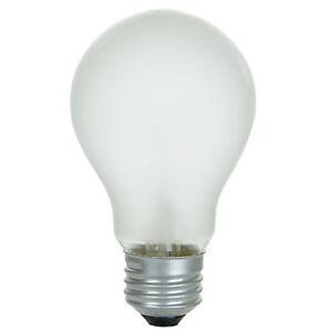 60 Watt Soft White Incandescent Light Bulbs (41028) - 8 Count Rough Service NEW!