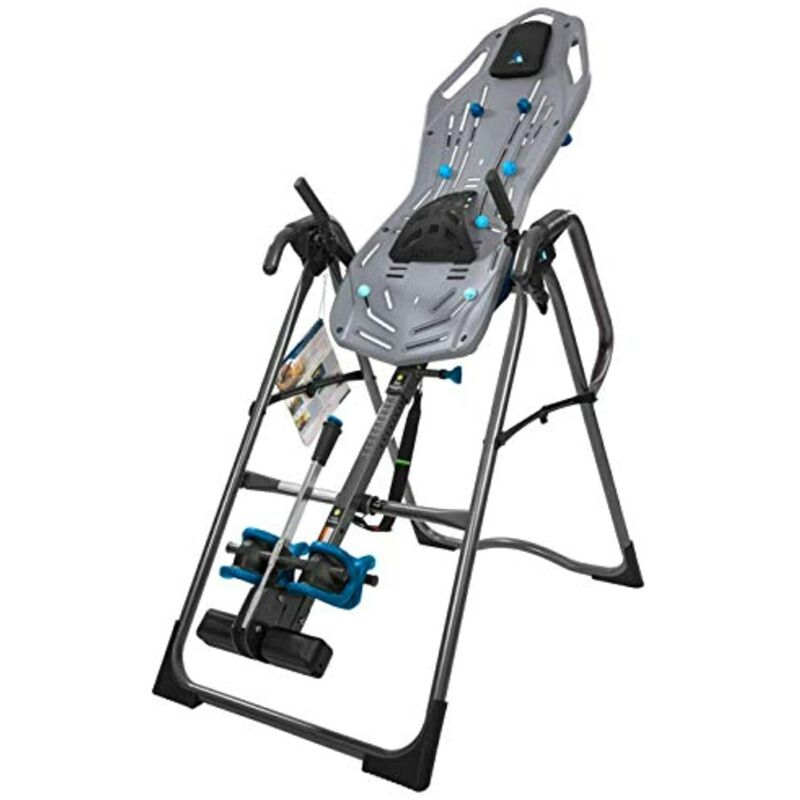 Teeter FitSpine X3 Inversion Table, Deluxe Easy-to-Reach Ankle Lock, Back Pain