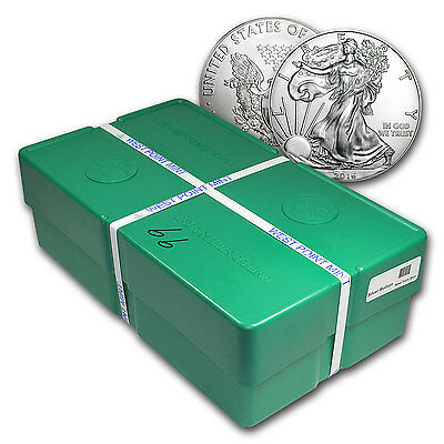Click now to see the BUY IT NOW Price! 2016 500 COIN SILVER EAGLE MONSTER BOX SEALED   SKU 93755