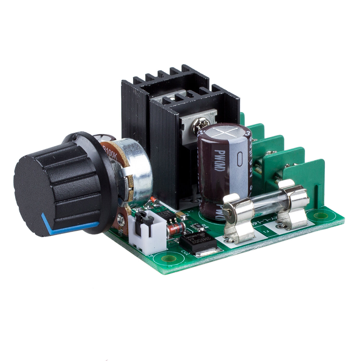12v 40v 10a Pwm Dc Motor Speed Controller With Knob Lw Behind Selecting Frequency For Control Of A Gallery Image