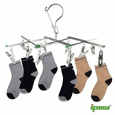 2set Clothes Socks Shorts Underwear Drying Rack Hanger Stain