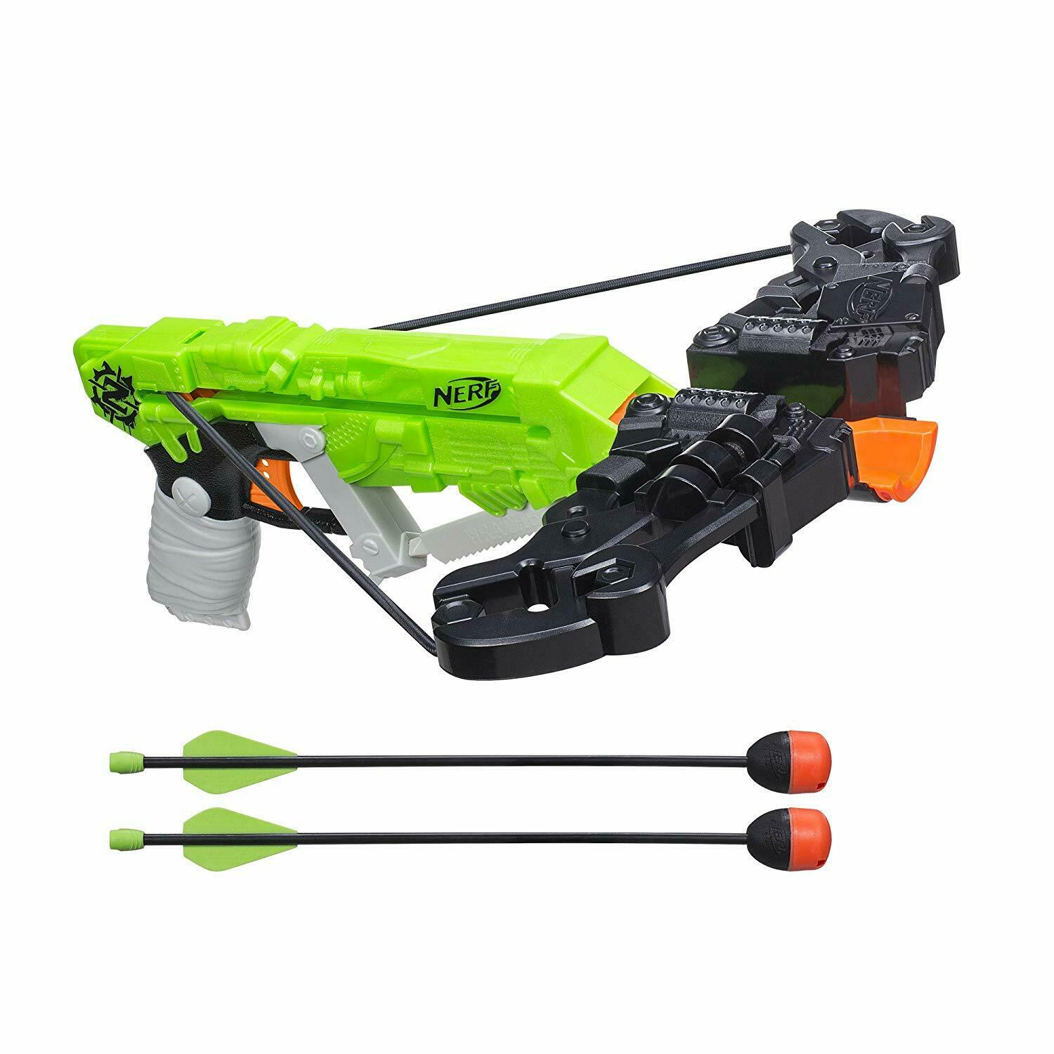 Real Crossbow Action Nerf Gun N-Strike Blaster Bow Gun Fires