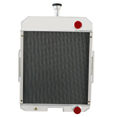 Aluminum Radiator for Ford NH Case IH 666 686 706 756 2706 2756 65427C1 Tractor