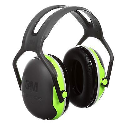 3m X4a Peltor X-series Over-the-head Earmuffs Nrr 27 Db Blackchartreuse