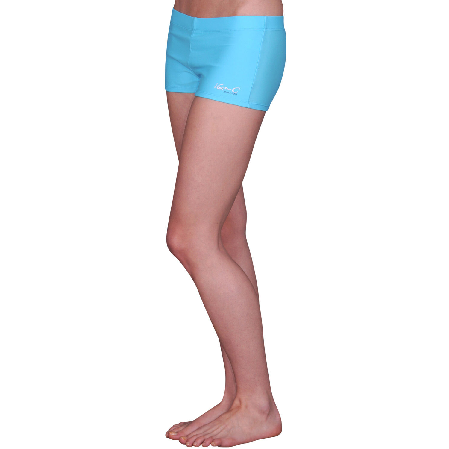 iQ UV 300 Hot Pants Slim Fit Women Damen XXS XS M L turquoise türkis Bikini Spor