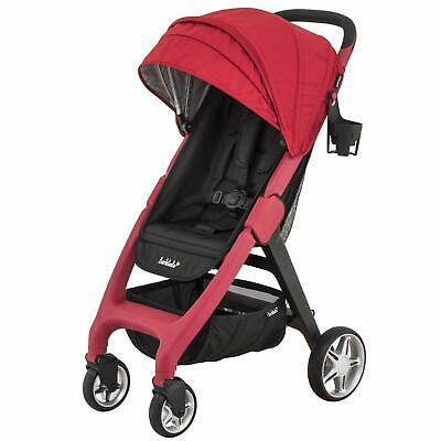 Larktale Chit Chat Compact Lightweight Travel Stroller, Barossa Red New Open Box