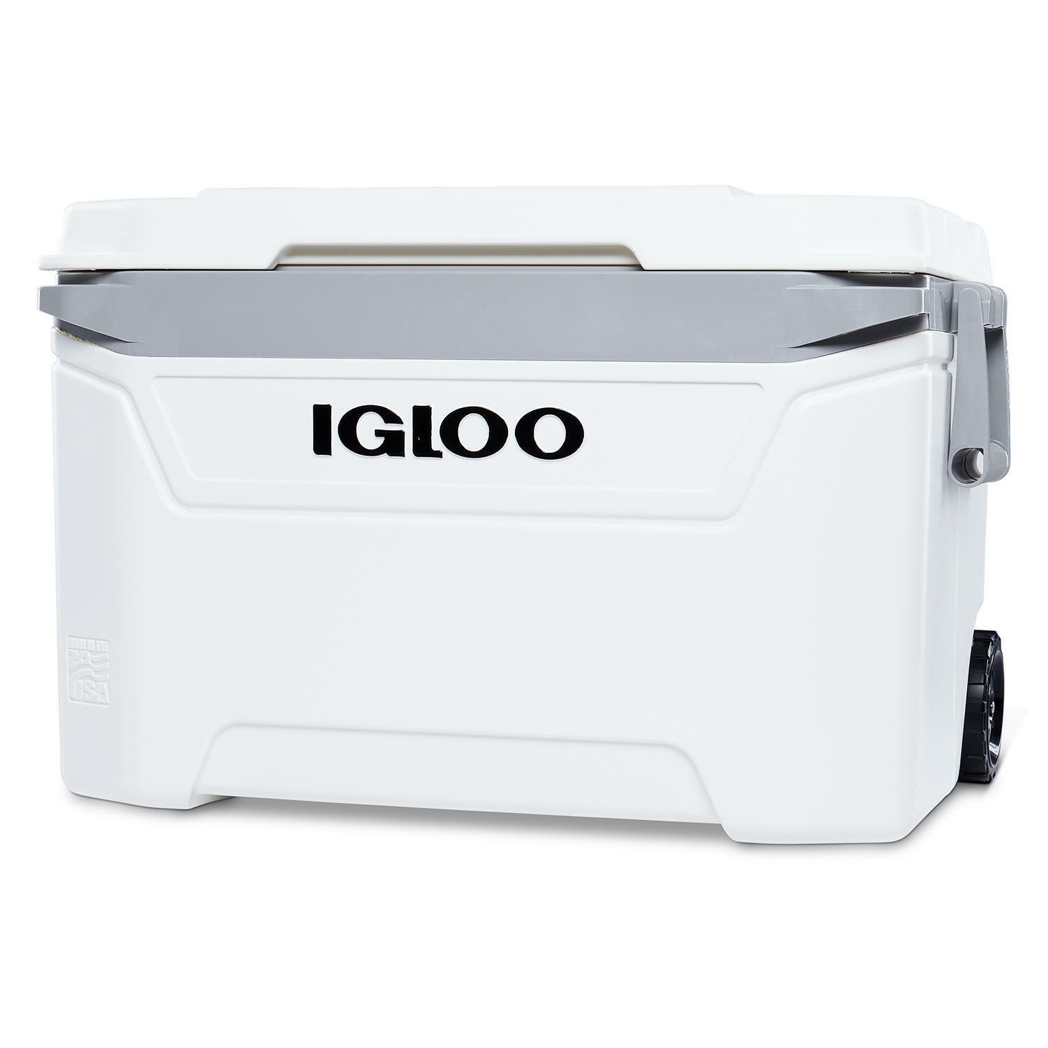 Igloo Sunset Heavy-Duty Wheels Rolling Cooler with Swing-Up