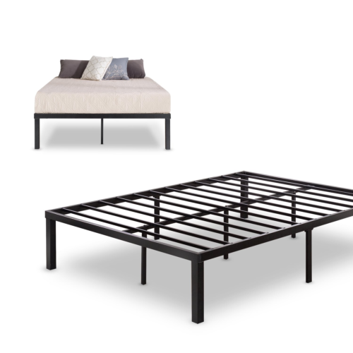 Zinus Luis Quick Lock 14 Inch Metal Platform Bed Frame / Mat