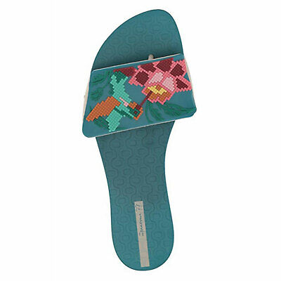 Ipanema New With Tags Nectar Slide Sandal Blue/Beige