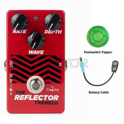 Caline CP-62 The Reflector Tremolo Pedal Guitar Effect Pedal Guitar Accessories
