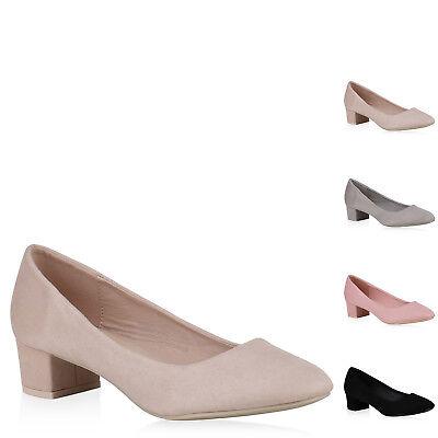 f6875b24d9fad9 Klassische Damen Pumps Elegante Business Schuhe Kitten Heels 822219 New  Look ...