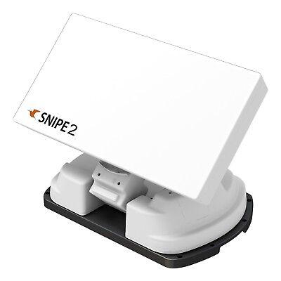Selfsat SNIPE V2 Single Vollautomatische Satelliten Antenne incl. Montageplatte