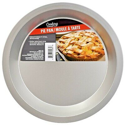 New Pie Pan Stainless Steel Heavy Weight for Even Baking PIES FREE Shipping