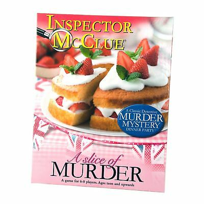 Used, Inspector McClue Murder Mystery Game - A Slice of Murder for sale  Newton Abbot