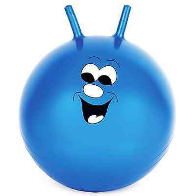 "60cm/24"" Children/Adult Space Hopper Jump & Bounce Indoor/Outdoor Toy In Blue"