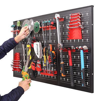 Werkzeugwand Lochwand Werkstattwand Werkzeughalter Werkstatt 3 Lochwände Metall