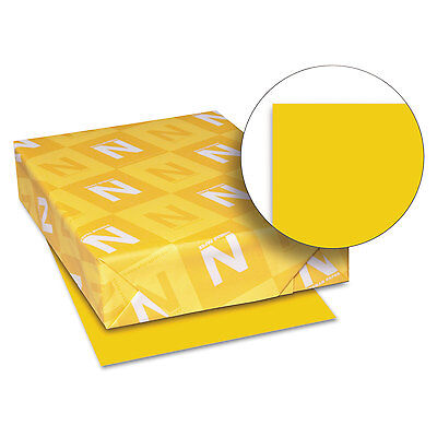 Neenah Paper Astrobrights Colored Card Stock 65 lb. 8-1/2 x 11 Galaxy Gold 250 (Gold Card Stock)
