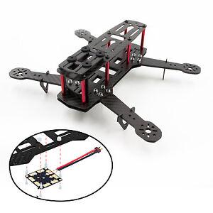 H250 ZMR250 250mm Mini FPV Quadcopter Multicopter 3k Pure Carbon Fiber Frame Kit