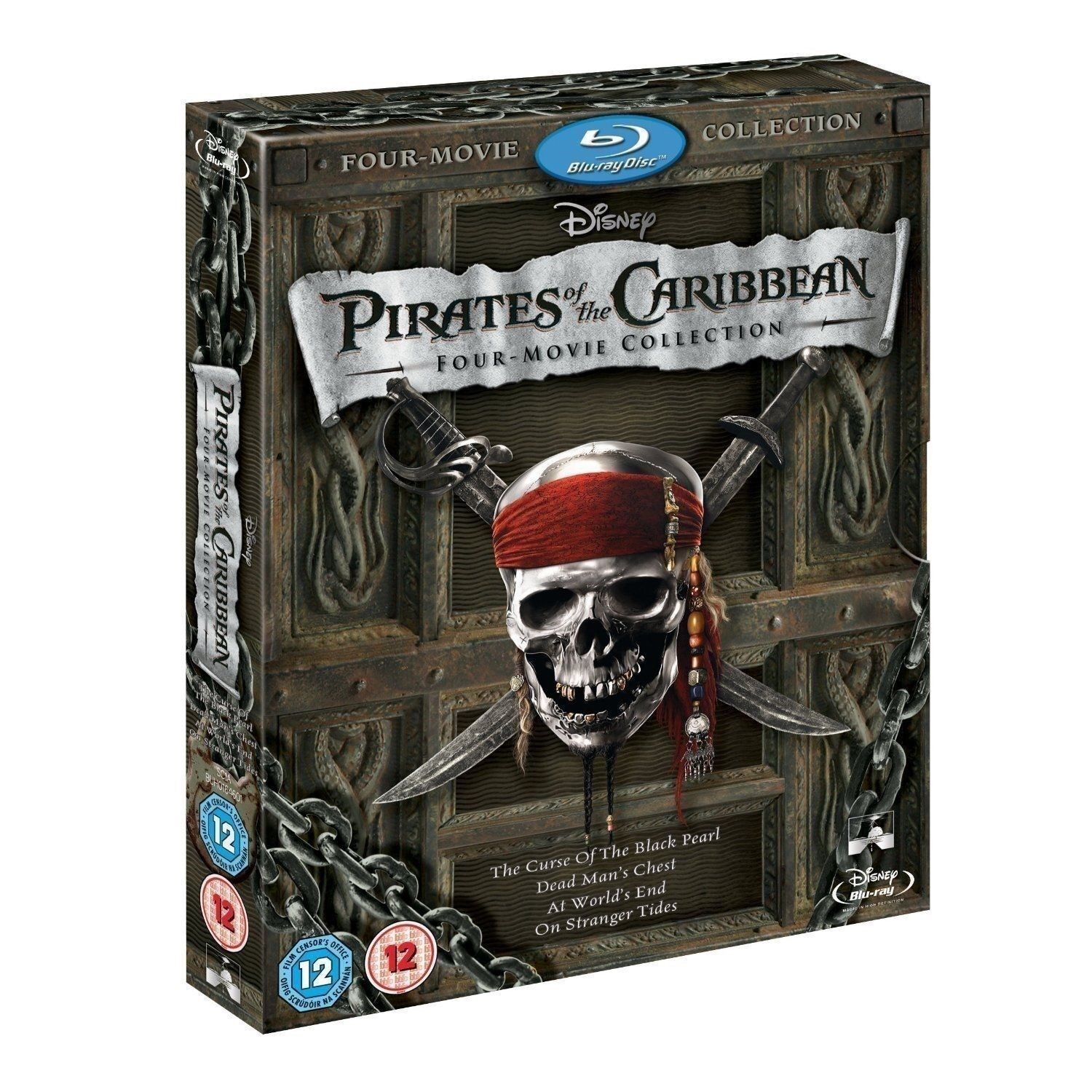 Disney Doppelgangers Pirates Edition: 4 Movie Collection BLU-RAY