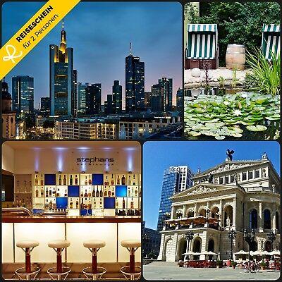 3 Tage Städtereise 2P Frankfurt 4* Best Western Macrander Hotel & FRANKFURT (Best Western Travel Cards)