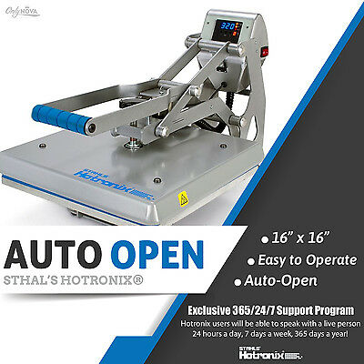Stahls Hotronix Auto Open Clam Heat Press 16 X 16 Free Fedex Ground Shipping