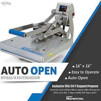 Stahls Hotronix Auto Open Clam Heat Press 16 X 16 Free Fedex Ground Shipping