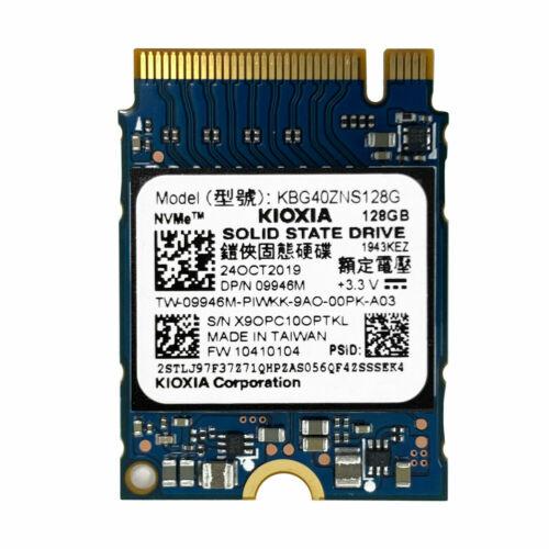Kioxia Former Toshiba Brand 128GB PCIe NVMe  SSD (KBG40ZNS128G)