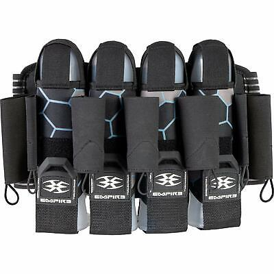 Empire F8 Action Pack 4+7 Paintball Harness - Komodo Sky - Black Blue Action Pack Paintball Harness