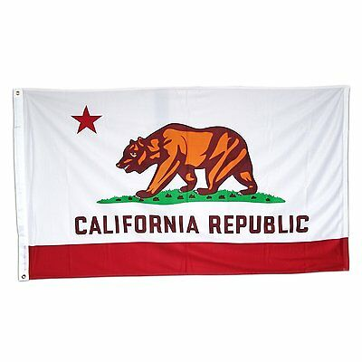 Nylon California State Flag - 3x5 California State 200D Nylon Flag 3ft x 5ft House Banner