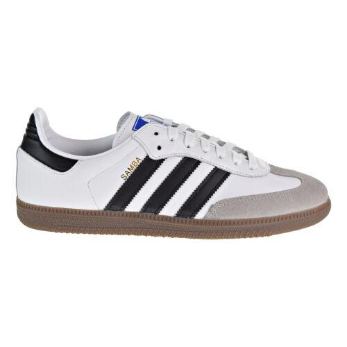 Adidas Samba OG Men's Shoes Cloud White-Core Black-Clear Granite B75806