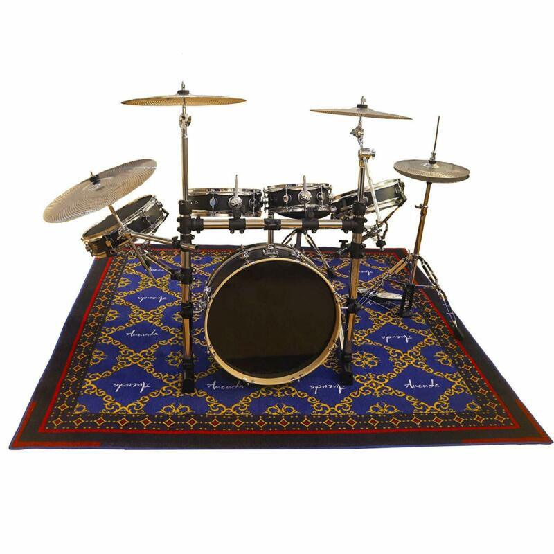 Drum Rug Non Slip Drum Mat 6ftX6.6ft