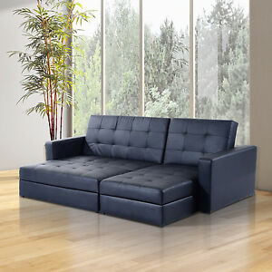 CLEARANCE Sofa Bed Storage Sleeper Chaise Loveseat Couch Sectional Living Room