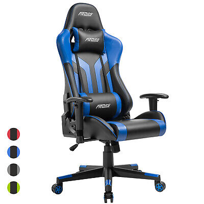 Executive Office Gaming Chair High-back Desk Chair Ergonomic Swivel Racing Style