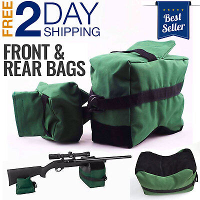 TACTICAL SHOOTERS SAND BAG PRECISION SNIPER FIELD BENCH REST THE GREEN CARROT
