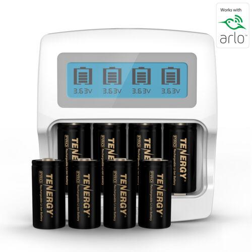 PREMIUM Arlo Camera Rechargeable Battery & Charger Kits - RCR123A Li-ion