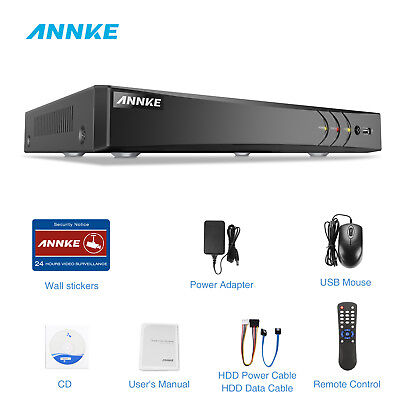 ANNKE 3MP HD Video Recorder 4CH H.264+ DVR for Smart Home Se