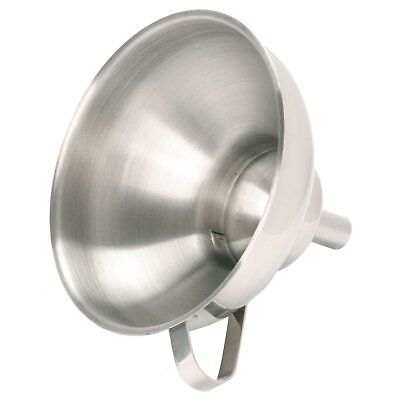Norpro Stainless Steel 2 Piece Funnel w/ Removable Spout For Jars & Bottles, 255