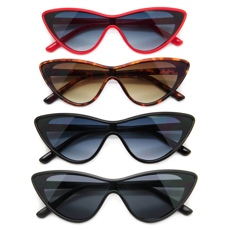Fashion Cat Eye Style Women Sunglasses Classic Retro Style F