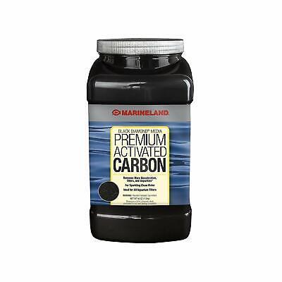 New Marineland Black Diamond Media Premium Activated Carbon 40 Ounce - Free Ship Black Diamond Activated Carbon