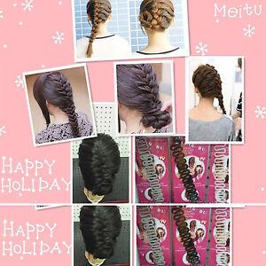 Zopf Flechter Stylinghilfe Frisurenhilfe Frisier Twister Haardreher Hair Braider