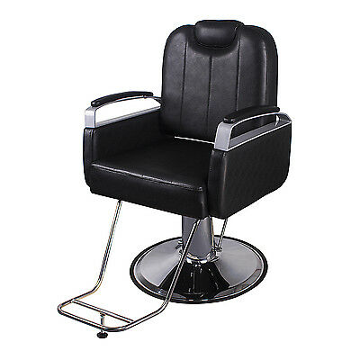 New Barber Chair Hair dresser Hydraulic Styling Beauty Salon Spa Black