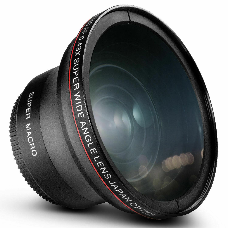 Altura 52mm Photo 0.43x Wide Angle Macro Lens For Nikon D7100 D5300 D3300 D3200 - $32.50