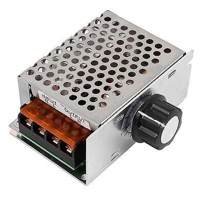 sourcingmap AC 220V 4000W SCR Voltage Regulator Dimmer Motor Speed Controller...