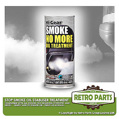 Stop Smoke Oil Treatment for Fisker. Stabilizer Engine Noise Reducer