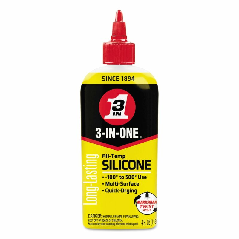 3-In-One Long Lasting Multiple Surface Quick Dry Professional Silicone Lubricant