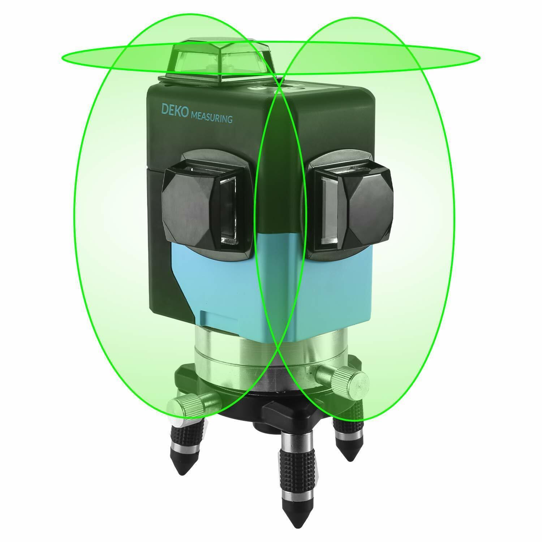 12lines laser level 3d green light level