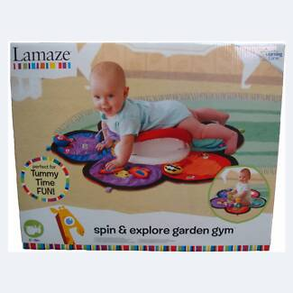 Lamaze Tummy time - Butterfly design with spinner Paddington Brisbane North West Preview