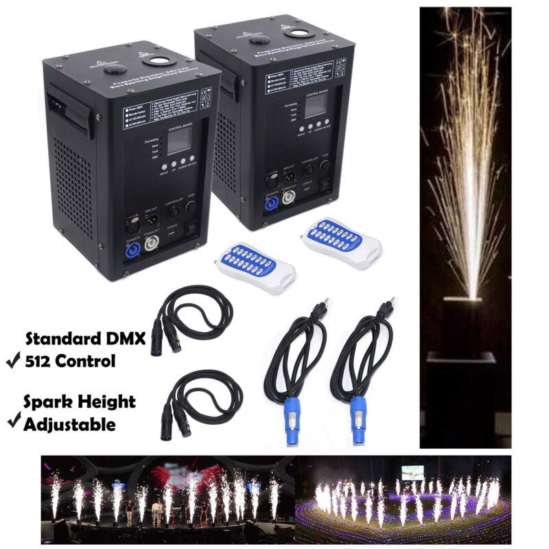 Cold Spark Firework Machine Stage Effect DMX Machine dj event party fixture 2pcs