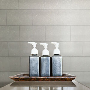 tile on a roll kitchen wallpaper kitchen and bathroom white glitter tile wallpaper 9467